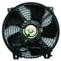 Мотор +вентилятор конденсатора кондиционера с корпусом (euro)