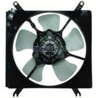 Мотор +вентилятор радиатора охлаждения с корпусом