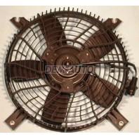 {+XL-7} Мотор+вентилятор конденсатора кондиционера с корпусом