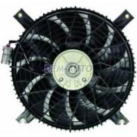 Мотор+вентилятор конденсатора кондиционера с корпусом (DENSO-ТИП)