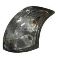 Фонарь задний внешний левый+правый (комплект) тюнинг диодный с диодами тонированный внутри хром
