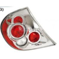 Фонарь задний внешний левый+правый (комплект) тюнинг (EAGLE EYES) (LEXUS ТИП) красный с хромом
