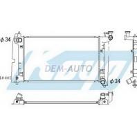 Радиатор охлаждения механика 1.4 1.6 (KOYO)