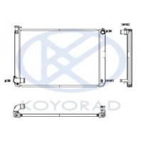 {HIGHLANDER 05-} Радиатор охлаждения гибрид автомат 3.3 (KOYO)