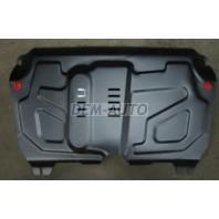 {HIGHLANDER 10-/VENZA 13-/ES 12-/RX 08-} Защита поддона двигателя +КПП , с креплениями , 2.0 , 2.5 , 2.7 , 3.5 ,большая , стальная