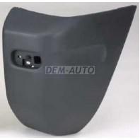 Боковина бампера задняя правая без отверстия под расширитель (3 дв) темно-серый