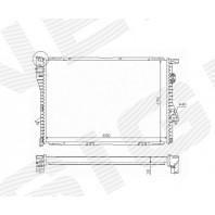 Радиатор охлаждения 2,5TDS MT/AT