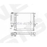 Радиатор охлаждения 1,6i/1,8i/2,0i/2,3i/2,5i/1,9i MT/AT