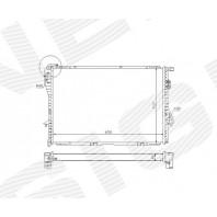 Радиатор охлаждения 2,0i/2,3i/2,8i/3,5i/4,0i/5,0i MT/AT