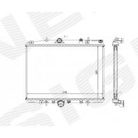 Радиатор охлаждения 2,0i/2,0HDi MT/AT