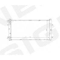 Радиатор охлаждения 1,8/1,9D/1,9TD/2,0/2,4D/2,5/2,5TDI/2,8 MT/AT