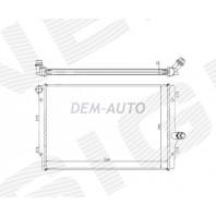 Радиатор охлаждения 1,6TDI/1,8TSI/2,0TDI/2,0TFSI MT/AT