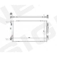 Радиатор охлаждения 1,2TFSI/1,4TFSI/1,6TDI/2,0TDI MT/AT