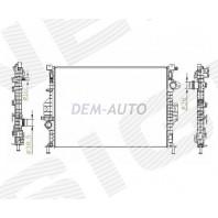 Радиатор охлаждения 1,6/1,6TDCi/1,8TDCi/2,0D/2,0i/2,0TDCi/2,2TDCI/2,5i MT/AT