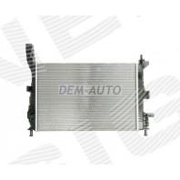 Радиатор охлаждения 1,5TDCi/1,6TDCi MT/AT
