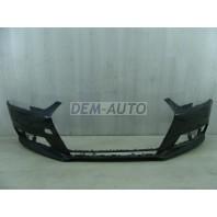 Audi a4  Бампер передний с отверстиями под омыватель фар, отверстиями под датчики, грунтованный