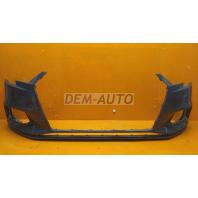 Audi a3  Бампер передний с отверстиями под омыватели фар (седан)