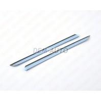 Logan {sandero}  Молдинг решетки радиатора левый+правый (комплект) хромированный(Китай)