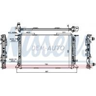 Радиатор охлаждения AUDI A4 {A5 07-/Q5 08-}