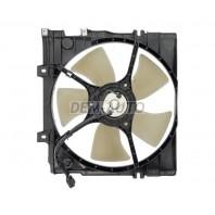 Legacy {2.5 97-99}  Мотор+вентилятор радиатора охлаждения с корпусом 2.2