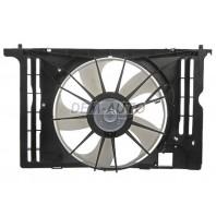Corolla  Мотор+вентилятор радиатора охлаждения с корпусом (Китай)