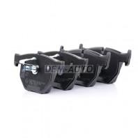 Textar {bmw 5 (e60 Колодки тормозные задние {BMW 5 (E60, E61), 6 (E63, E64)}