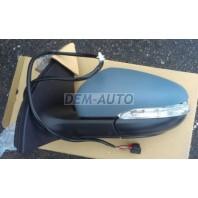 Golf  Зеркало левое электрическое с подогревом,указателем поворота,подсветкой (convex)