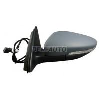 Jetta  Зеркало левоеэлектрическое с подогревом указателем поворота (Китай)