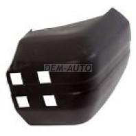 Боковина бампера задняя правая черная