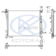 Радиатор охлаждения автомат (бензин) (KOYO)