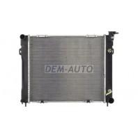 Gr cherokee Радиатор охлаждения автомат 5.2 5.9 (2 ряд)