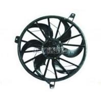 Gr cherokee Мотор+вентилятор конденсатора кондиционера с корпусом 4.7 L