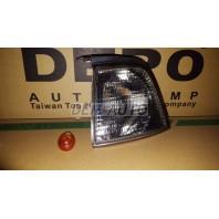 Audi 80 Указатель поворота угловой левый (DEPO) тонированный