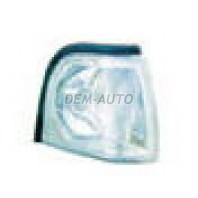 Audi 100  Указатель поворота угловой правый тюнинг прозрачный внутри хром