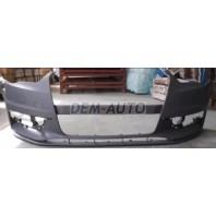 Audi a3  Бампер передний с отверстиями под омыватели , грунтованный (хэтчбек)