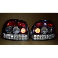 Audi a3 Фонарь задний внешний левый+правый (КОМПЛЕКТ) (3дв) тюнинг (SONAR) внутри хромированный-черный
