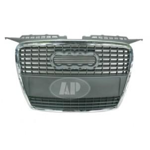 Audi a3 Решетка радиатора хромированная- серебрянная