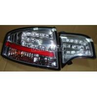 Audi a4  Фонарь задний внешний+внутренний левый+правый (комплект) (СЕДАН) тюнинг хрустальный с диодами (SONAR) внутри хром