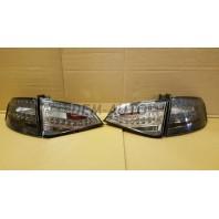 Audi a4 Фонарь задний внешний+внутренний левый+правый (комплект) с диодами