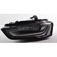 Audi a4  Фара левая линзованная с регулировочным мотором (КСЕНОН) диодная (DEPO)