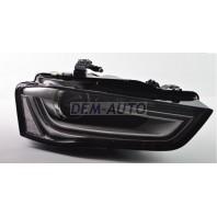Audi a4  Фара правая линзованная с регулировочным мотором (КСЕНОН) диодная (DEPO)
