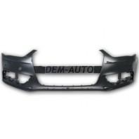 Audi a4  Бампер передний с отверстиями под омыватели фар под датчики (Китай)