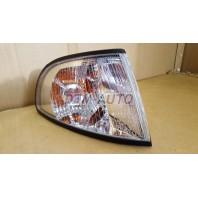 Audi a4 {s4} Указатель поворота угловой правый тюнинг прозрачный внутри хромированный