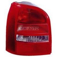 Audi a4 Фонарь задний внешний левый (УНЕВЕРСАЛ) красно-белый