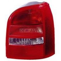 Audi a4 Фонарь задний внешний правый (УНЕВЕРСАЛ) красно-белый