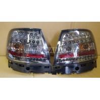 Audi a4 Фонарь задний внешний левый+правый(КОМПЛЕКТ)(СЕДАН)тюнинг с диодами тонированный (EAGLE EYES) внутри хромированный
