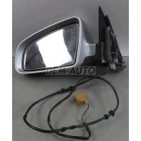 Audi a4  Зеркало левое электрическое с подогревом (aspherical) грунтованное