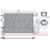 Audi a4  Конденсаторкондиционера (см.каталог)