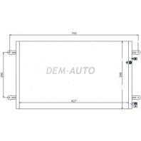 Audi a6 Конденсатор кондиционера (см.каталог)