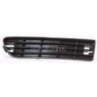 Audi a6  Решетка бампера передняя правая черная